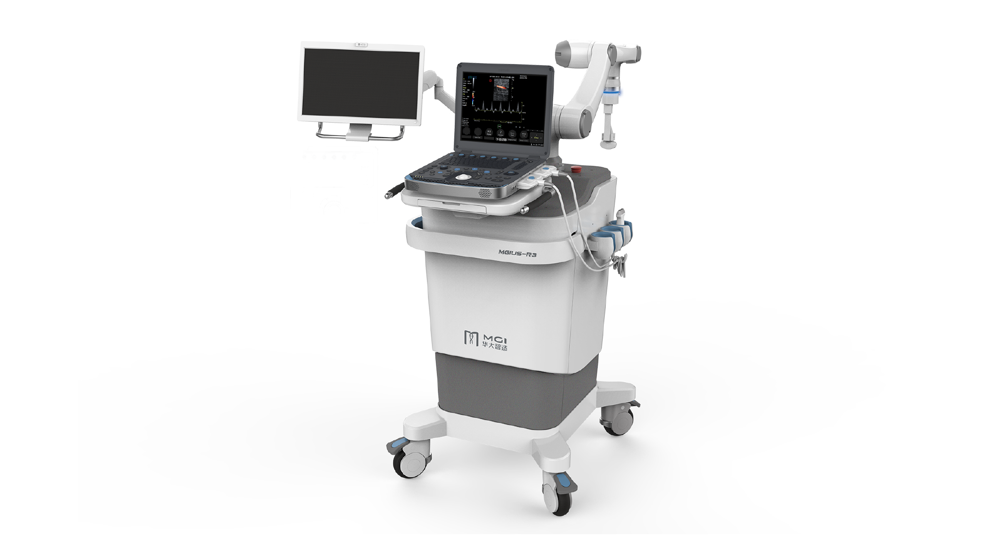 MGIUS-R3 the Robotic Ultrasound System Developed Independently